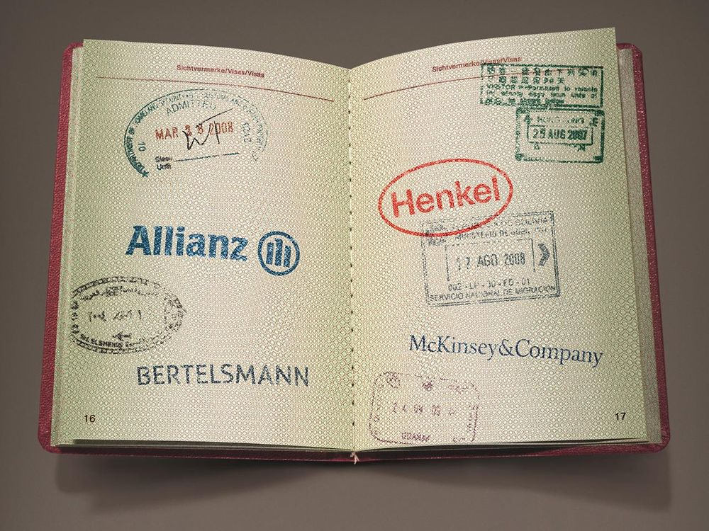 eine bewerbung vier partnerunternehmen allianz bertelsmann henkel und mckinsey - Allianz Bewerbung