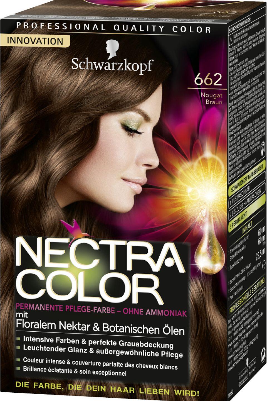 Nectra Color Schwarzkopfs Erste Pflege Coloration Mit Floralem