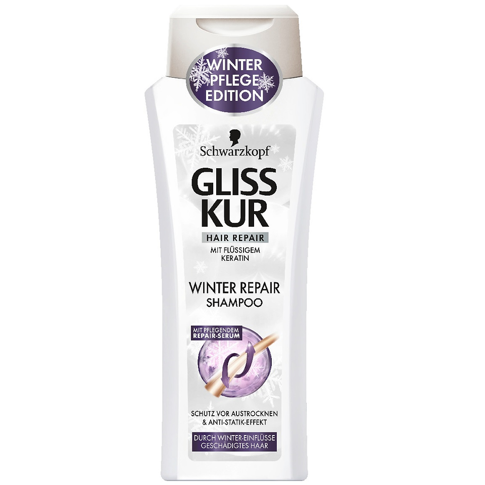 Gliss Kur Winter Repair Shampoo