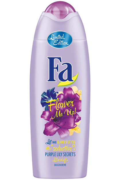 Fa Flower Me Up! seductive Purple Lily Secrets Duschcreme