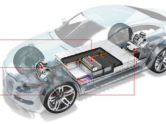 Henkel enables e-Mobility with different matching technologies for power storage systems, power generation systems and power conversion components of electric vehicles.