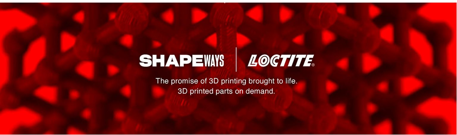 Henkel and Shapeways are partnering for large-scale industrial 3D printing solutions